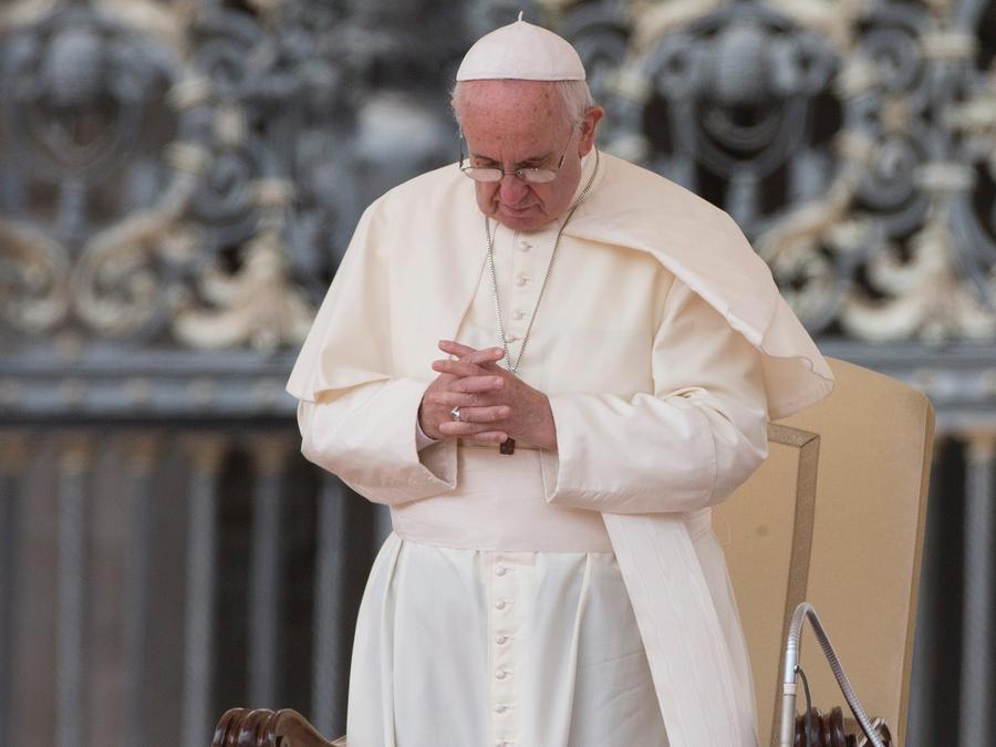 El Papa Francisco celebra la santa misa