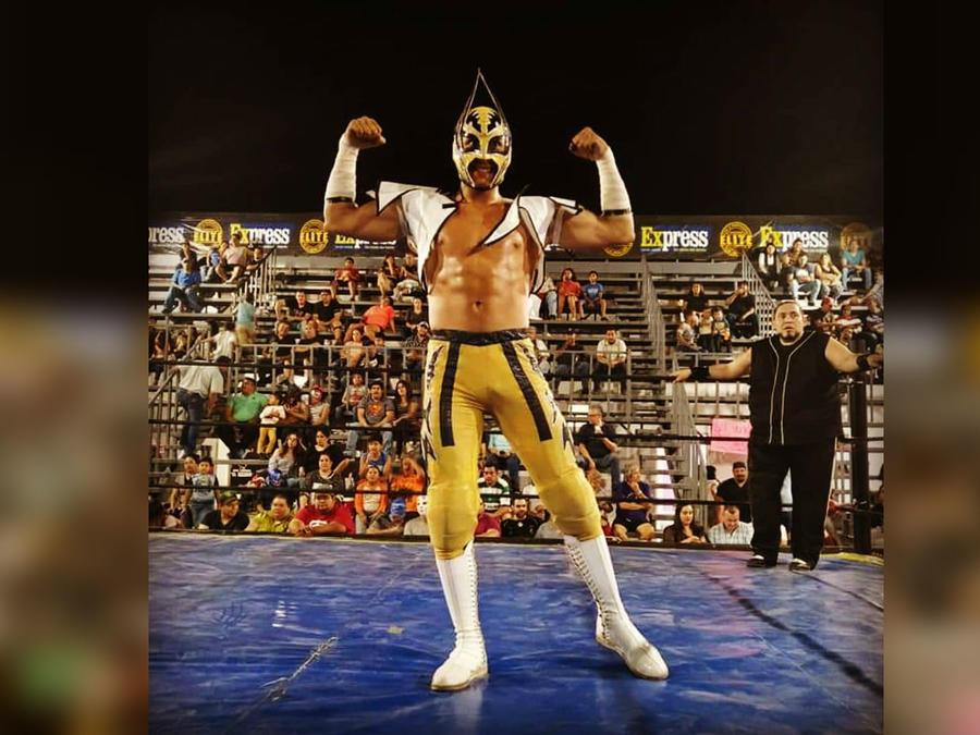 Luchador 'Príncipe Aéreo'
