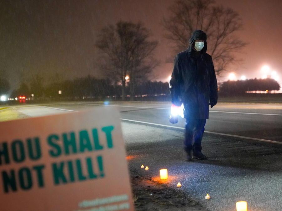 Bill Breeden, un activista en contra de la pena de muerte.