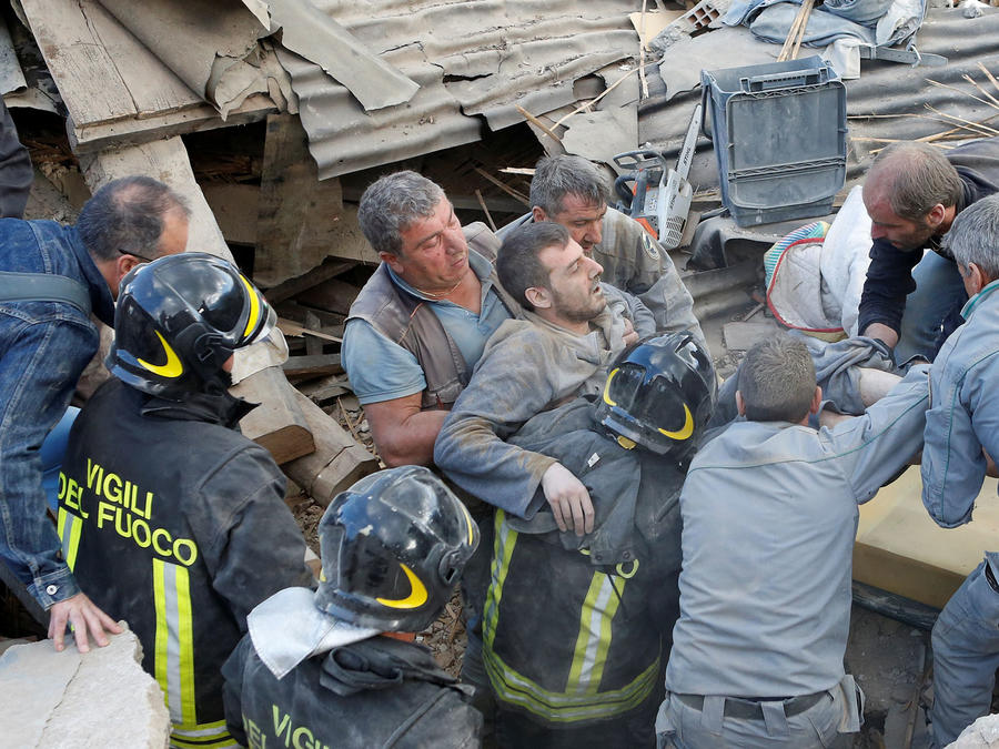 rescate terremoto