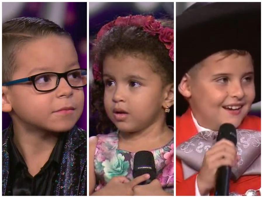 Concursantes Siempre Niños show 3