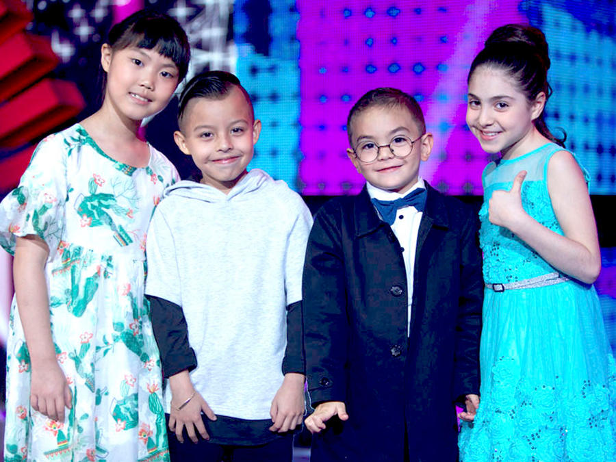 Concursantes Siempre Niños show 9
