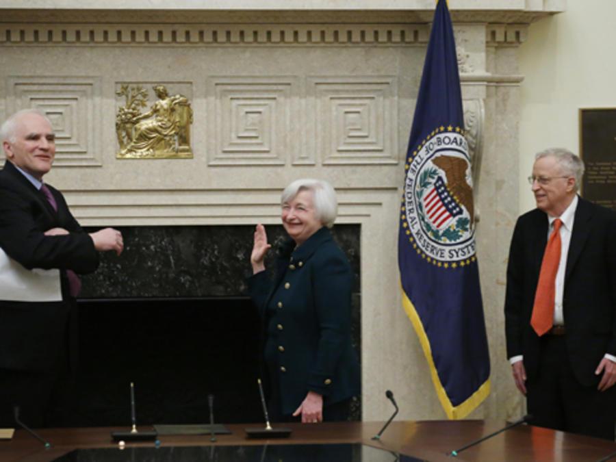Presidenta de la Reserva Federal Janet Yellen