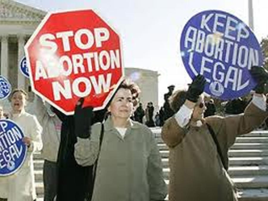 Organizaciones a favor y en contra del aborto.