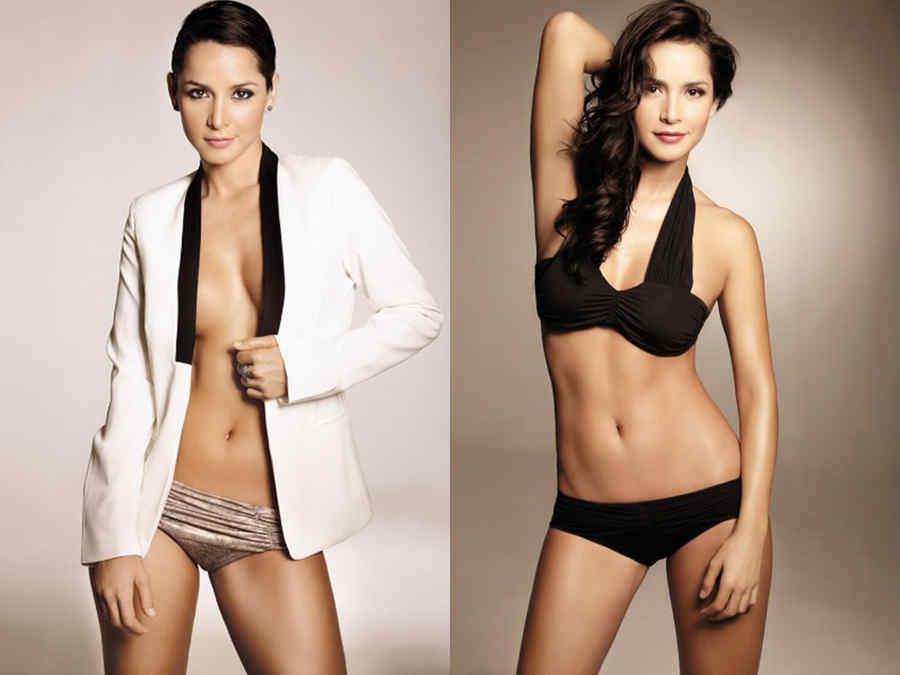 Carmen Villalobos collage bikini