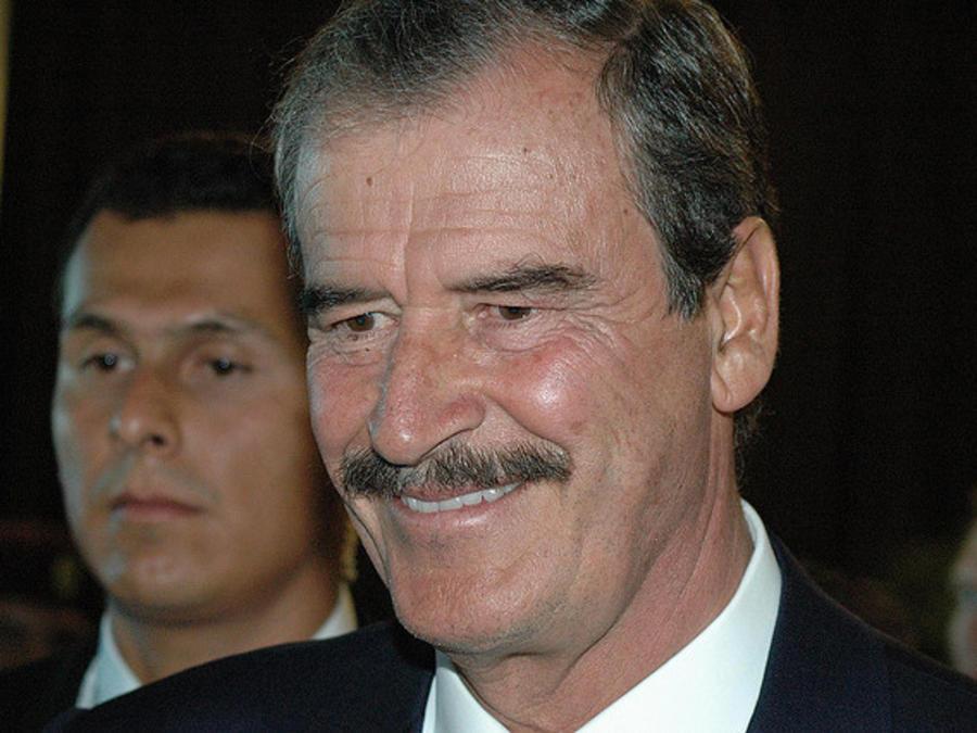 Vicente Fox llama a votar contra Donald Trump