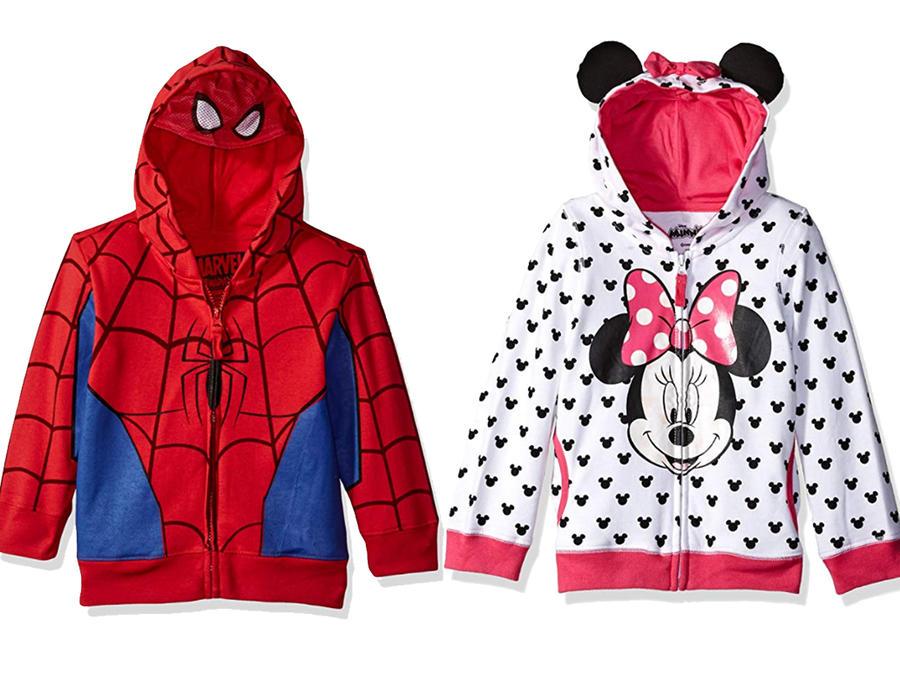 Hoodies para tus niños con sus personajes favoritos