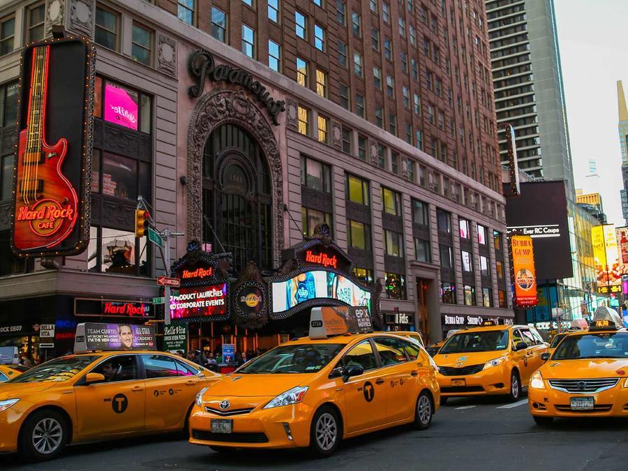 taxis en calle