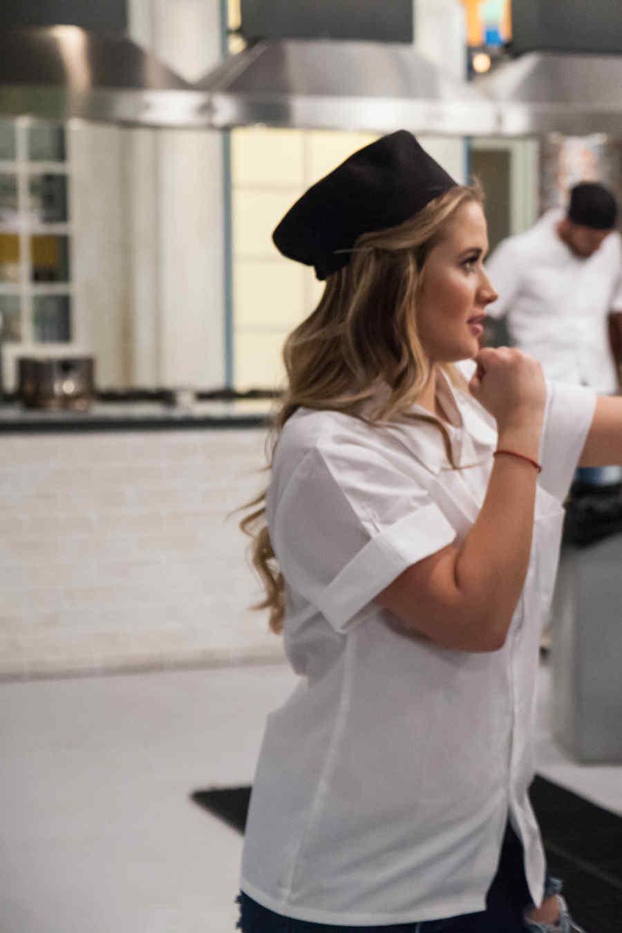 Kimberly Dos Ramos y Fernando Vargas detrás de cámaras en Top Chef Estrellas