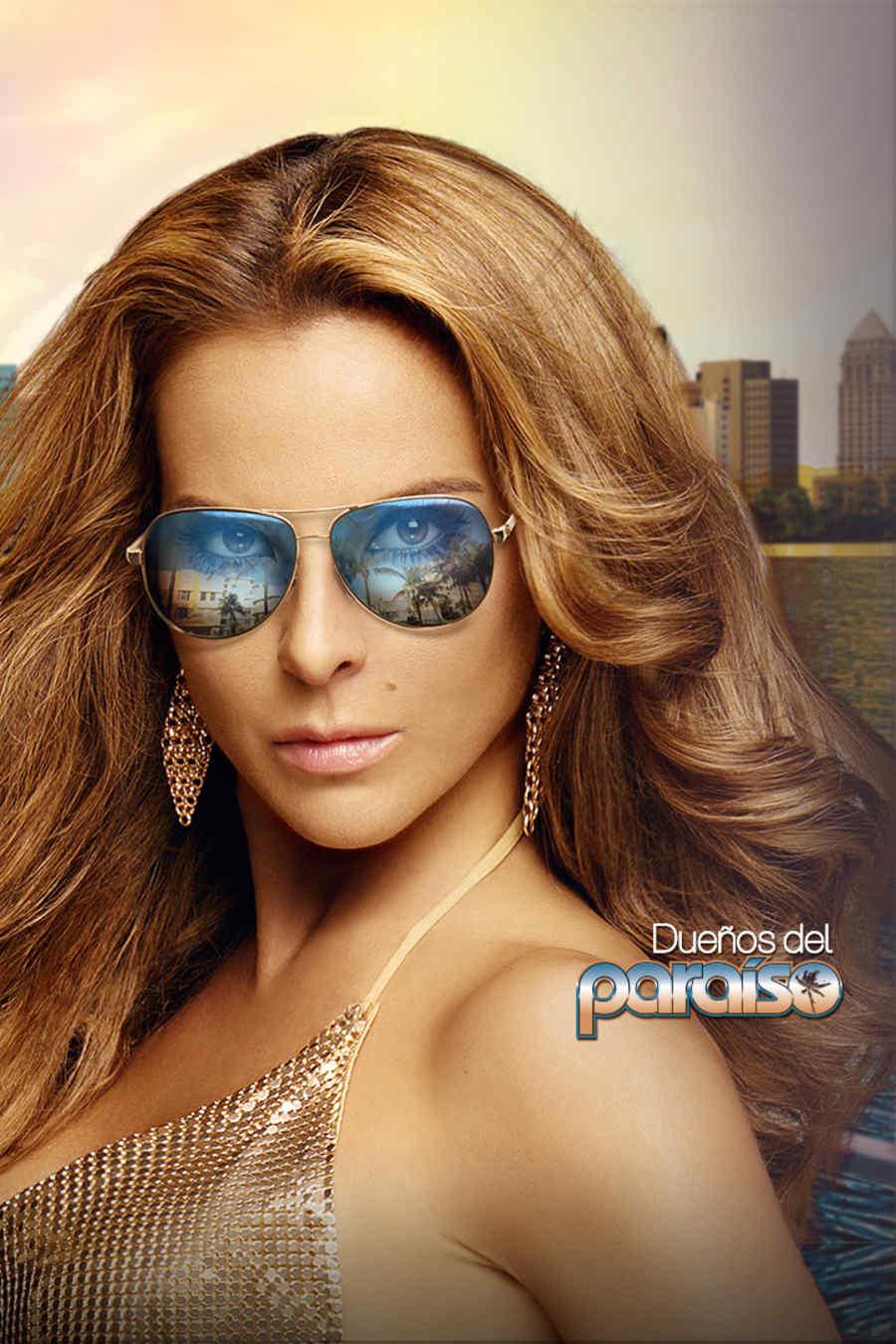 Kate del Castillo en Dueños del Paraíso