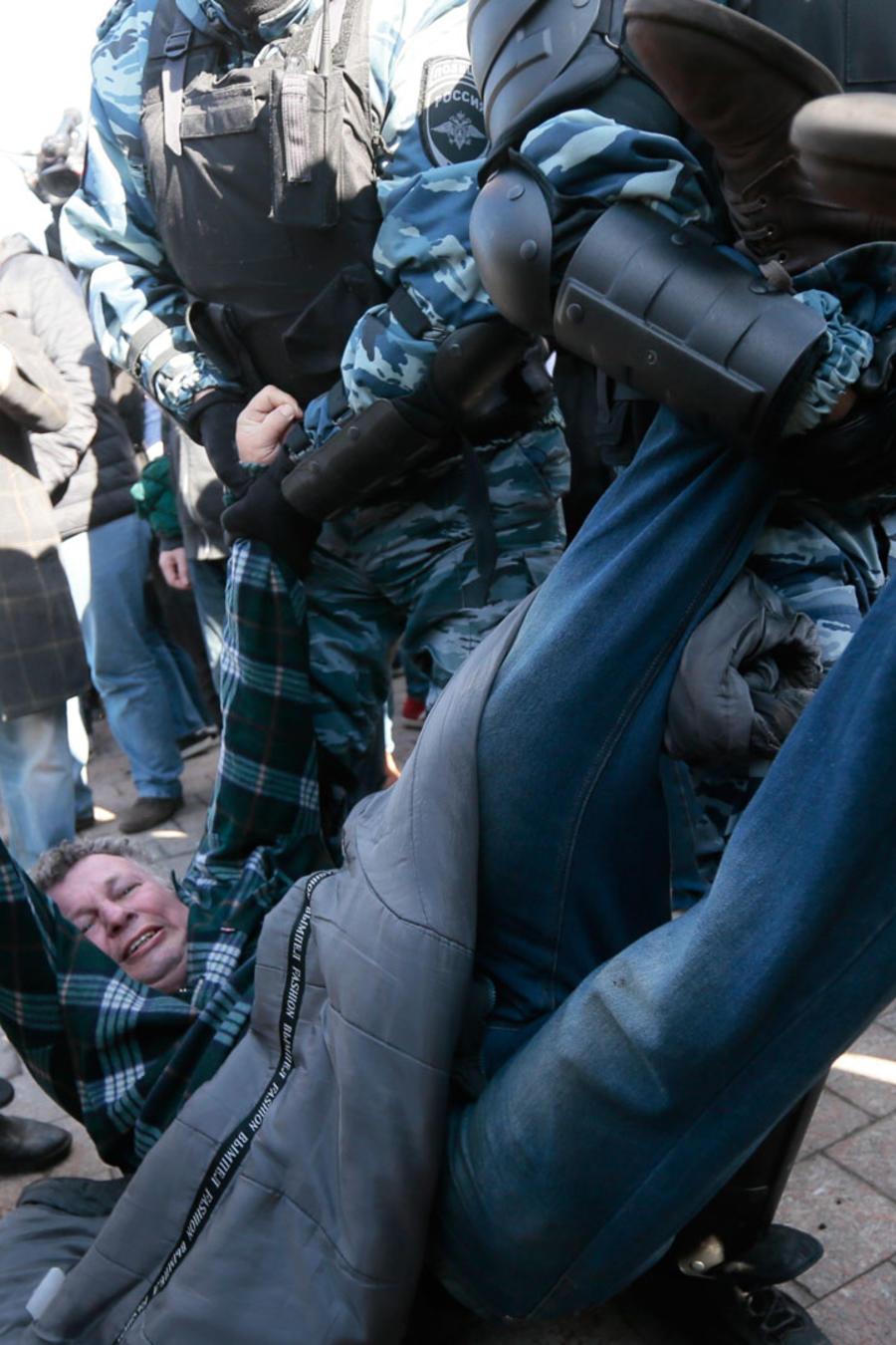 Arrestos en Rusia el 26 de marzo