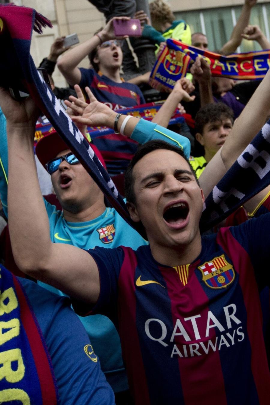 Hinchas del Barça