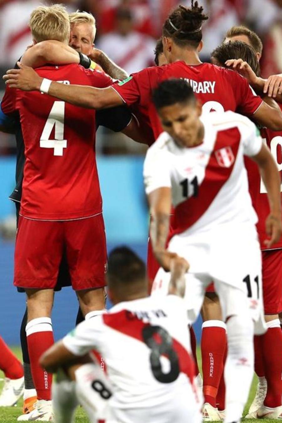High Lights Dinamarca vs Perú