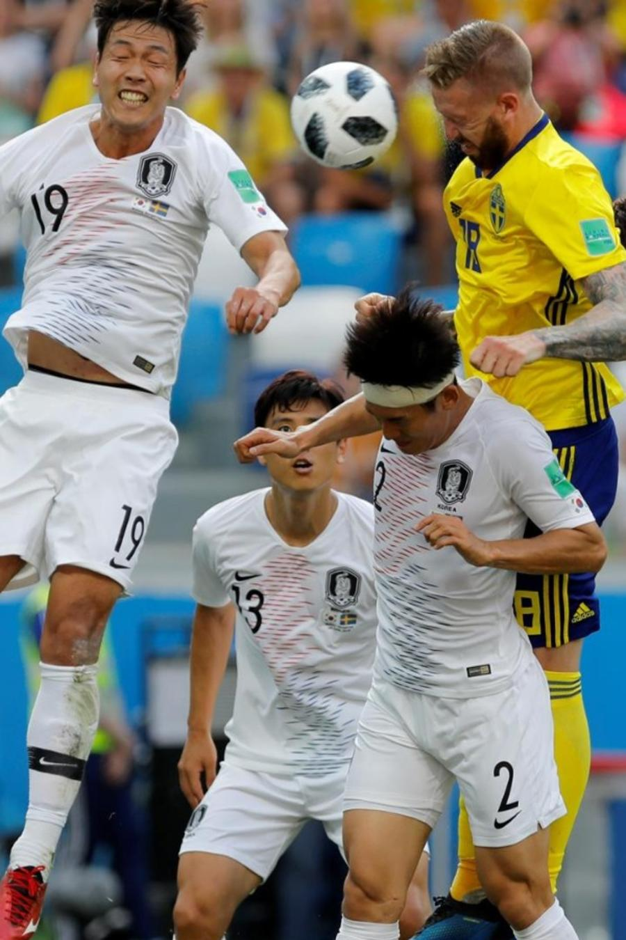 Suecia vs. Corea HL