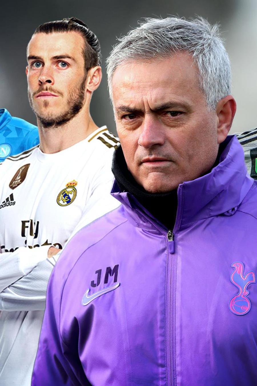 José Mourinho, Gareth Bale, Paulo Dybala y otros futbolistas