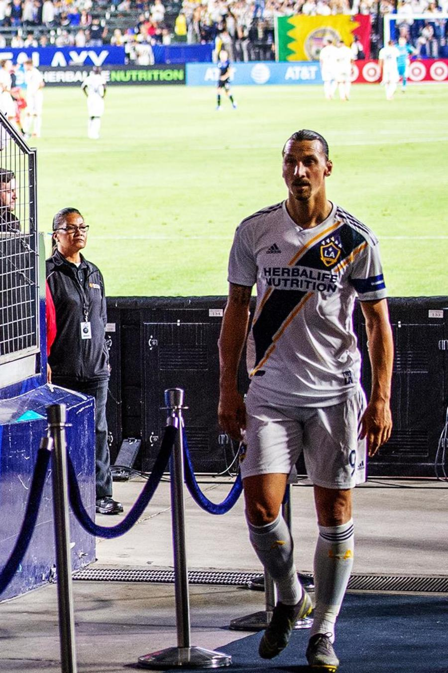 Zlatan Ibrahimovic en Los Angeles Galaxy