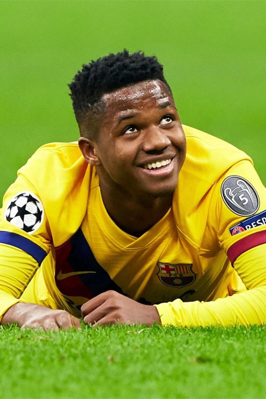 Ansu Fati en el Barcelona FC