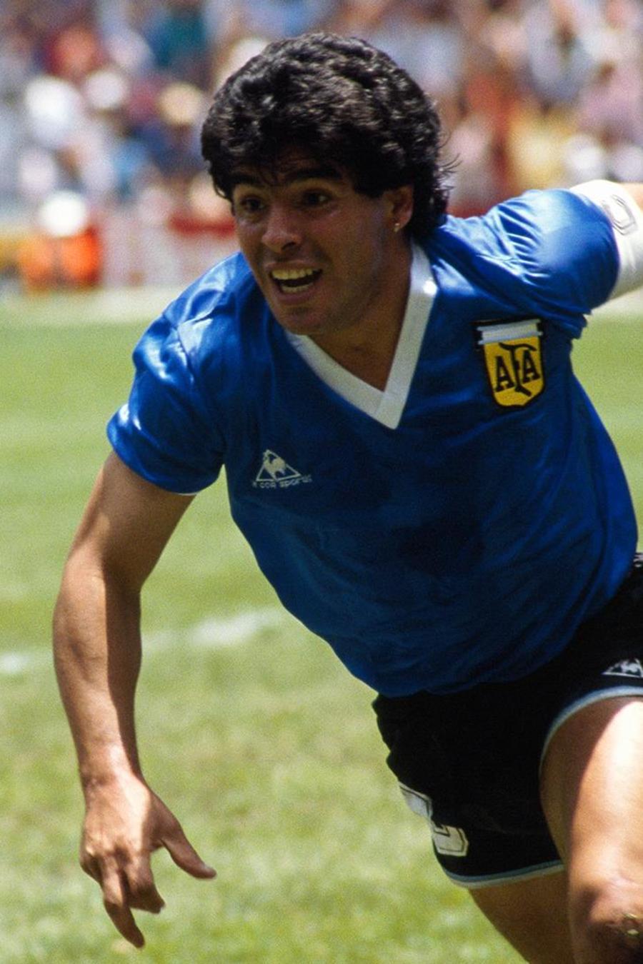 Diego Armando Maradona en la Selección de Argentina