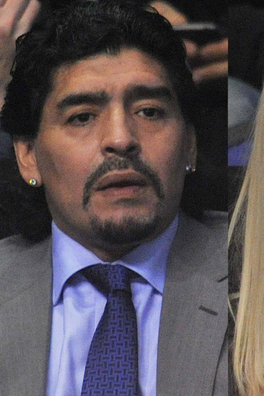 Diego Maradona, Verónica Ojeda y Mario Baudry