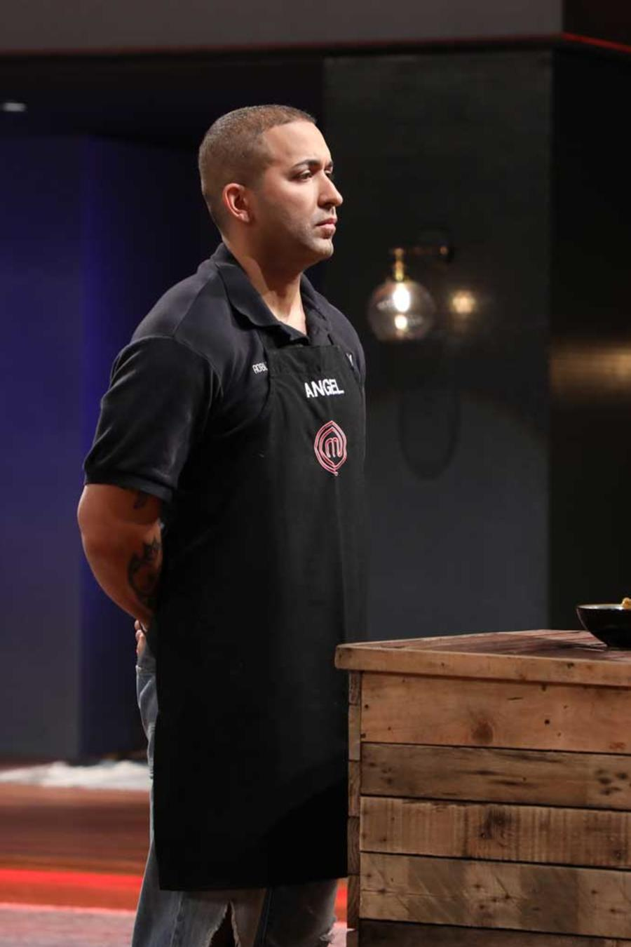 Ángel en MasterChef Latino