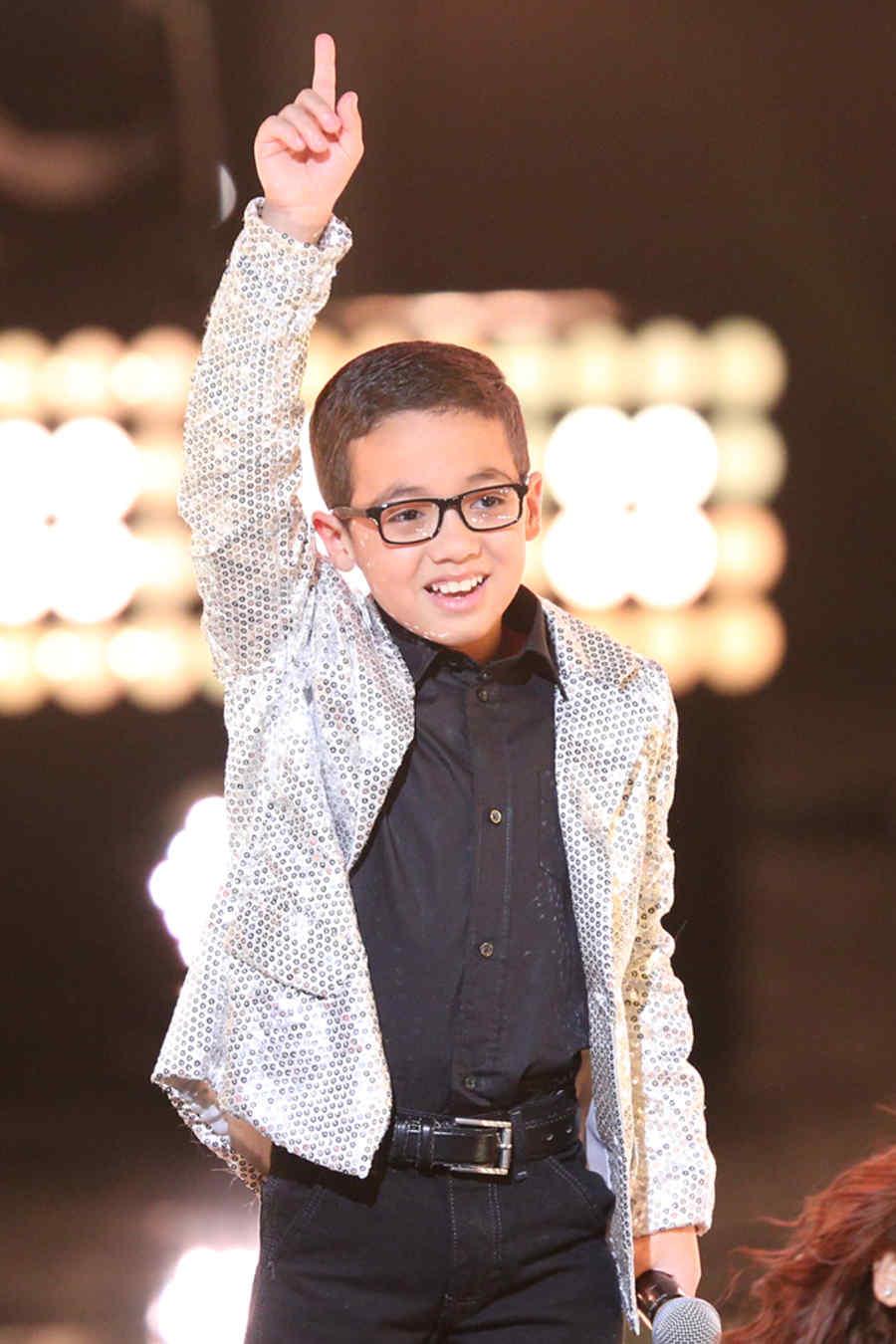 jonael santiago, presentacion, final, la voz kids