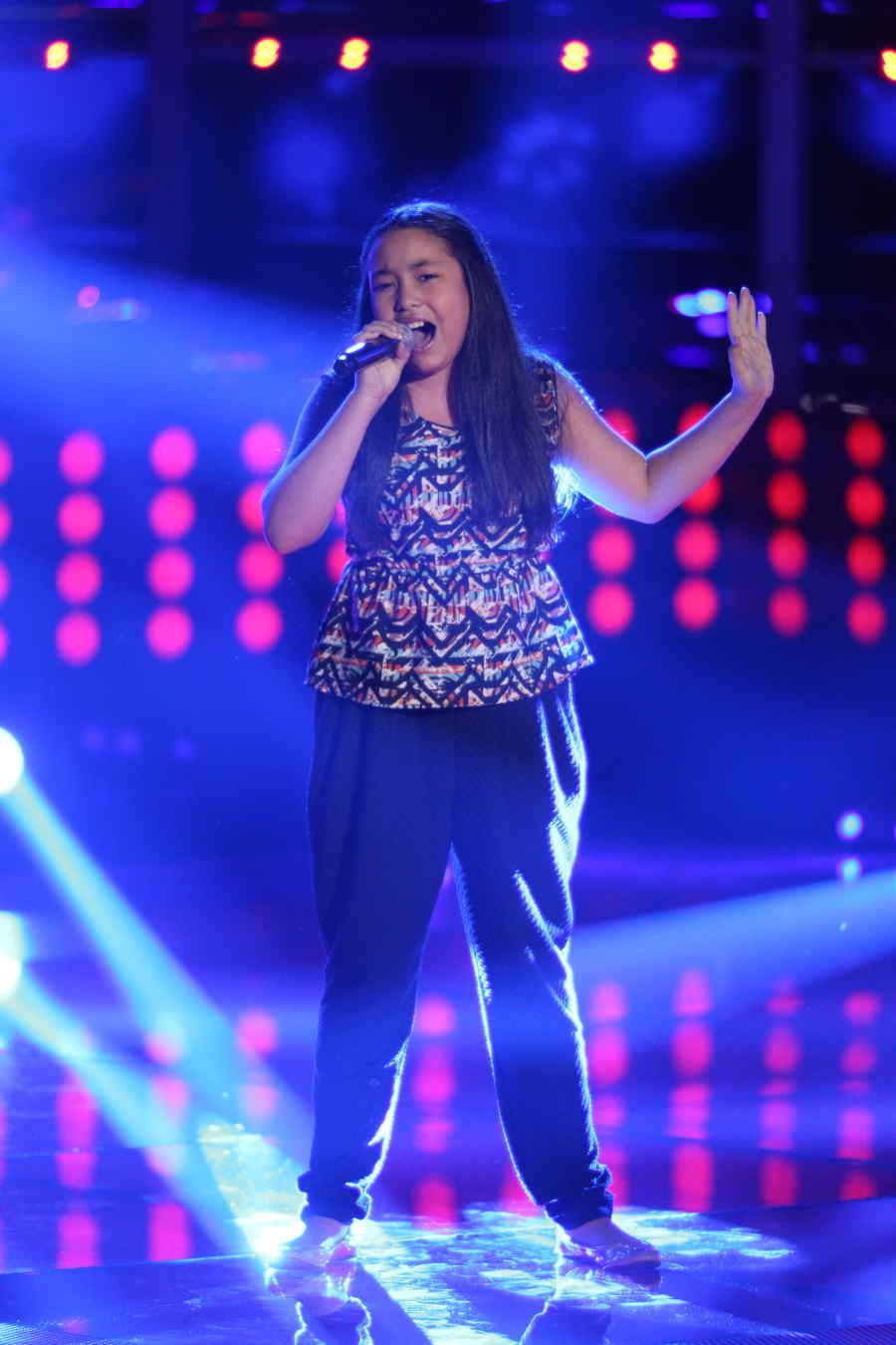 Merlyn García en La Voz Kids