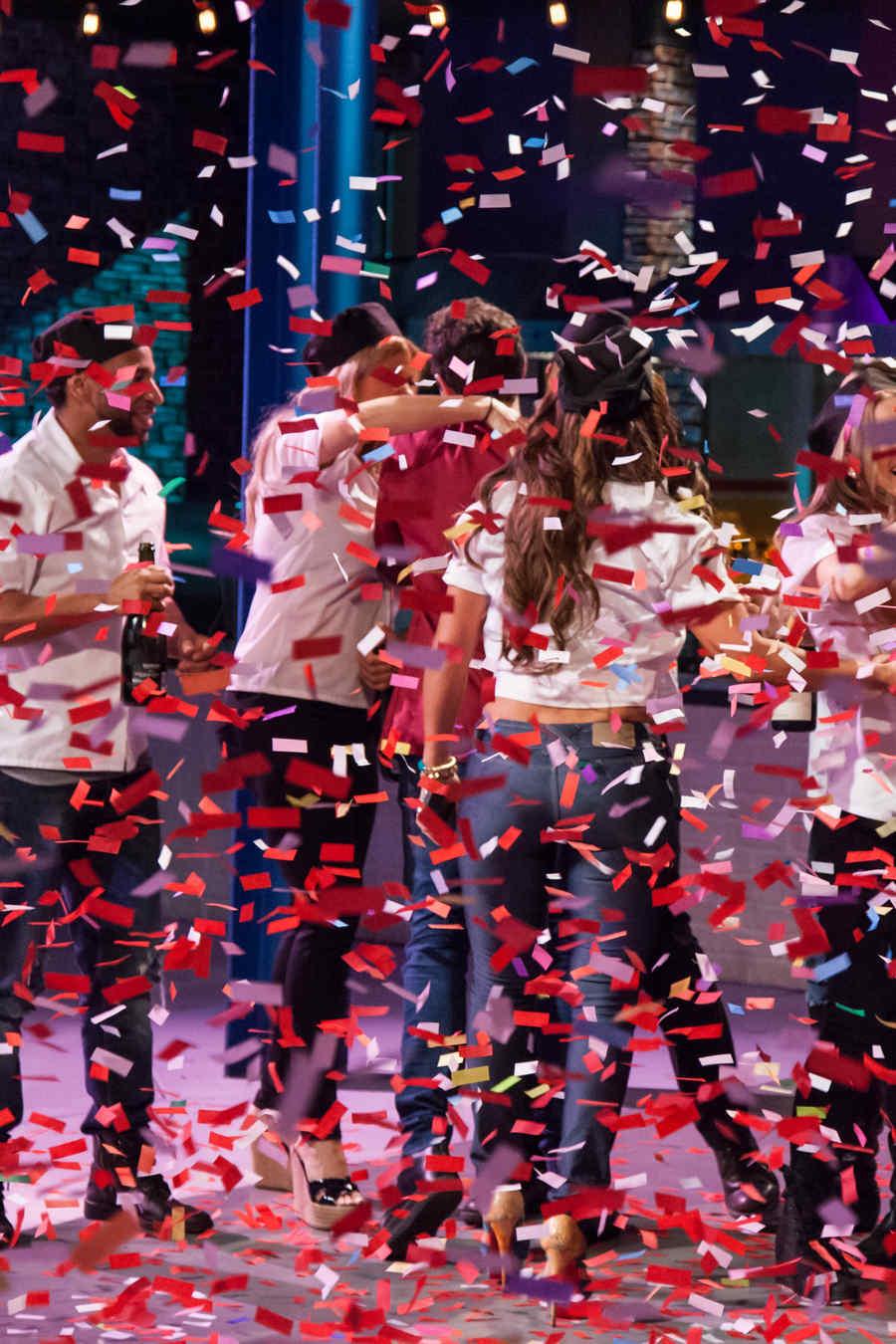 Todos celebran el triunfo de Gabriel Coronel en Top Chef Estrellas