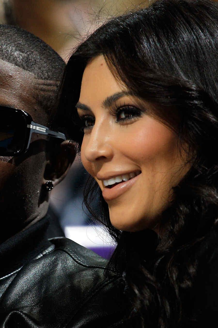 Reggie Bush y la estrella Kim Kardashian