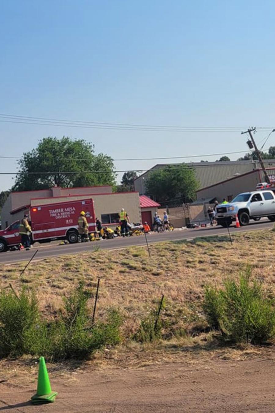Varios ciclistas atropellados en Arizona