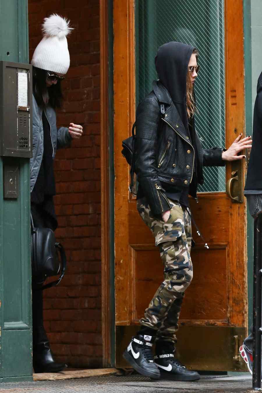 Kendall Jenner y Cara Delevingne