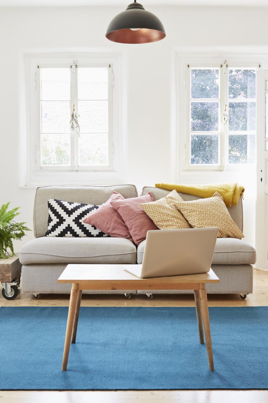 Obtén el look de esta sala de estar con 7 productos