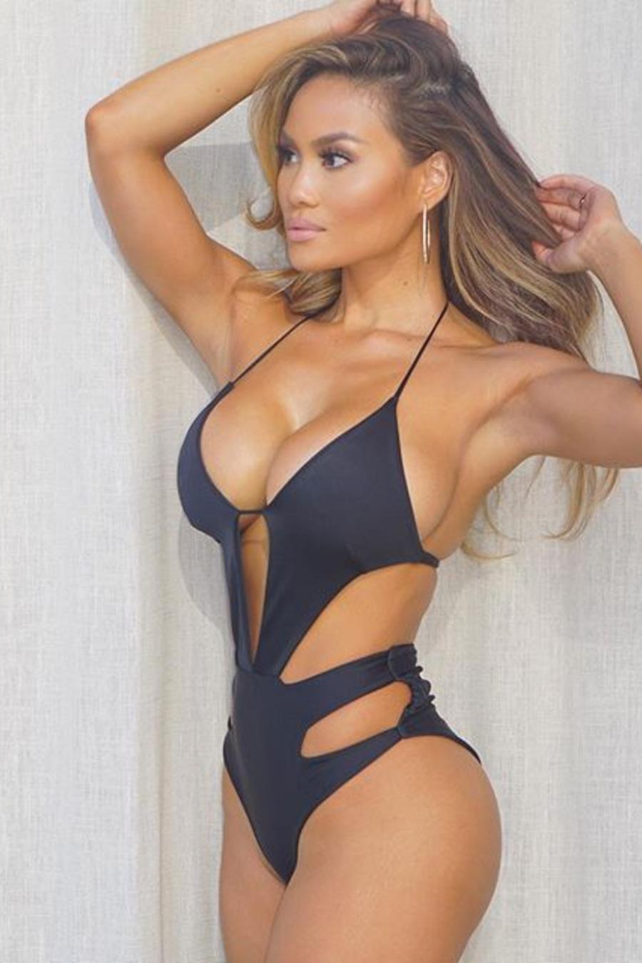 Daphne joy black bikini