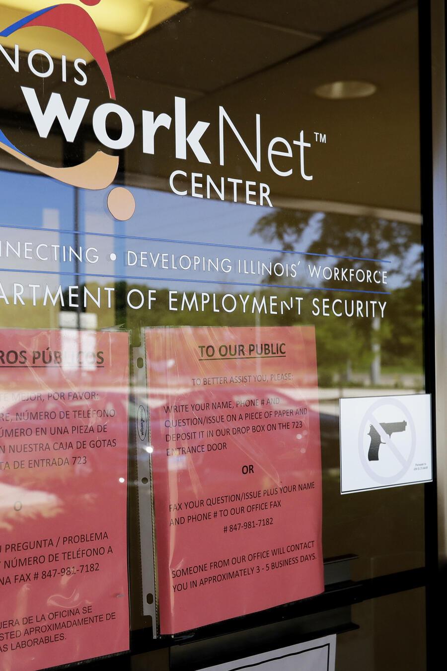 Solicitudes por desempleo Illinois.