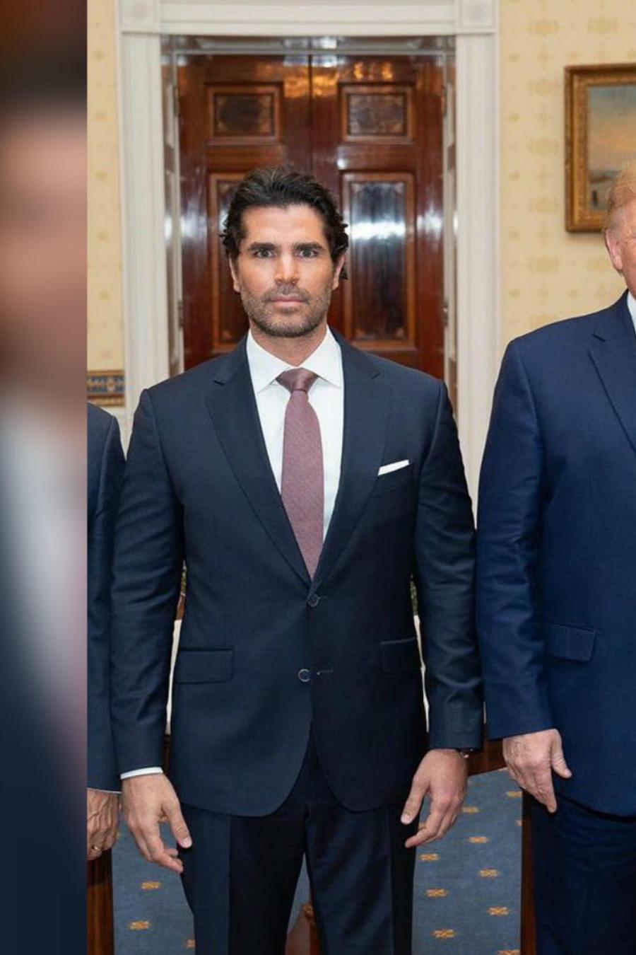 Eduardo Verástegui y Donald Trump