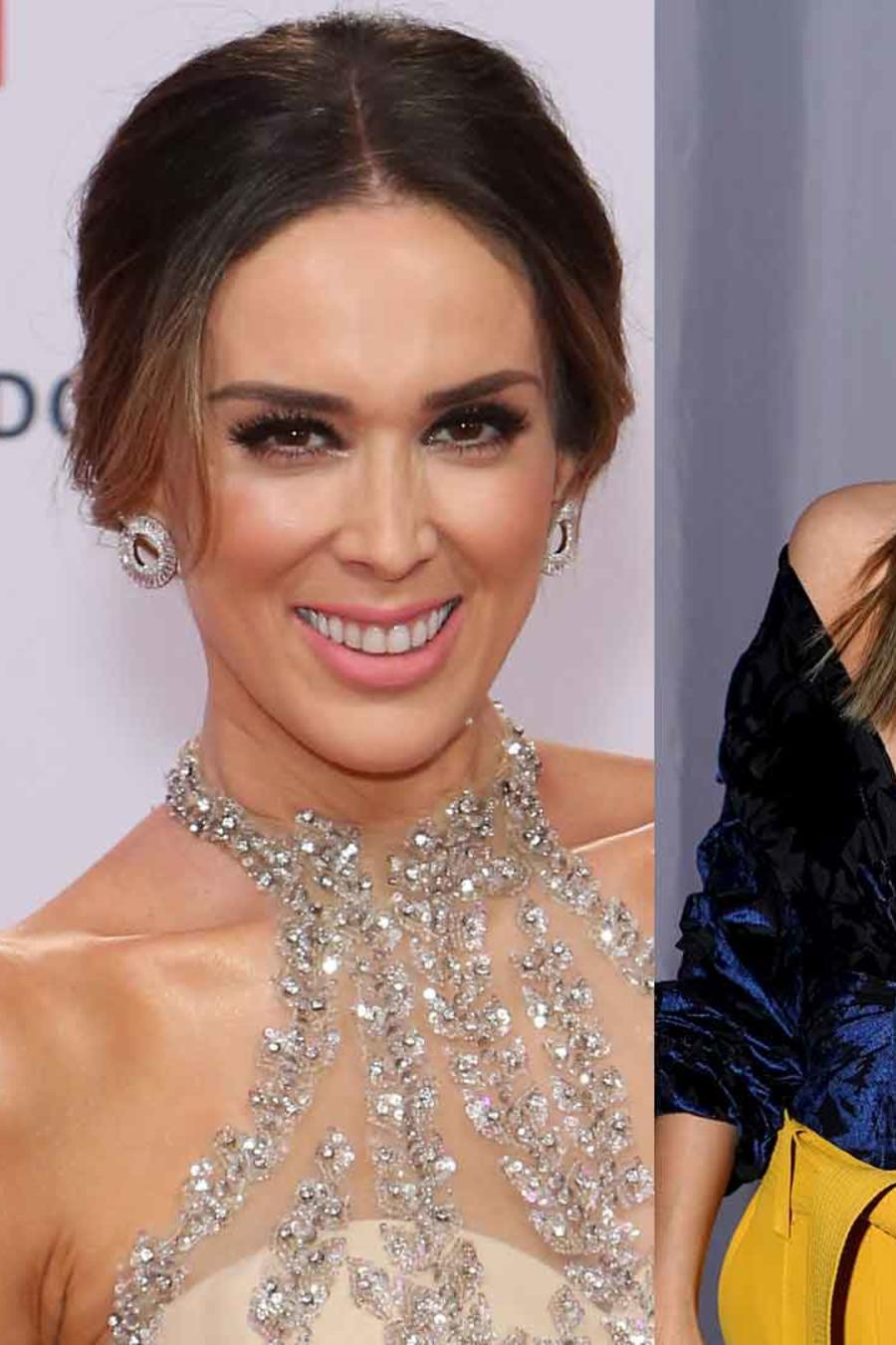 Jennifer Lopez, Jacky Bracamontes y Carmen Villalobos con el cabello recogido