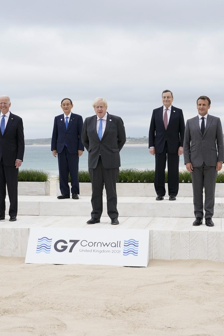 Líderes del G-7.