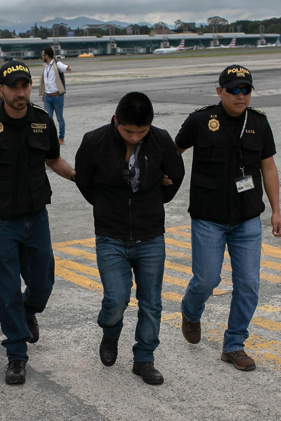 Inmigrante deportado