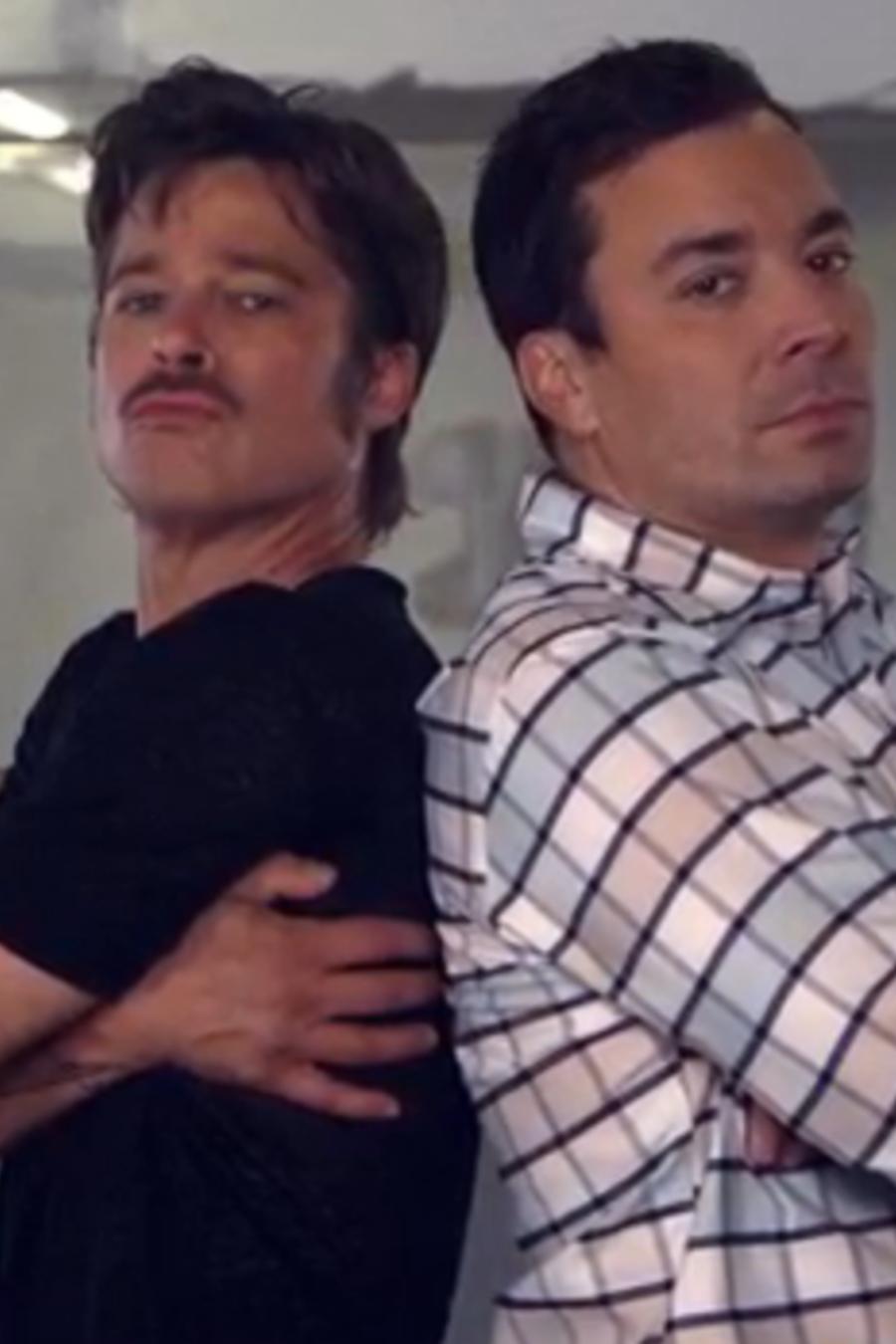Brad Pitt vs. Jimmy Fallon en le Break Dance de Fury