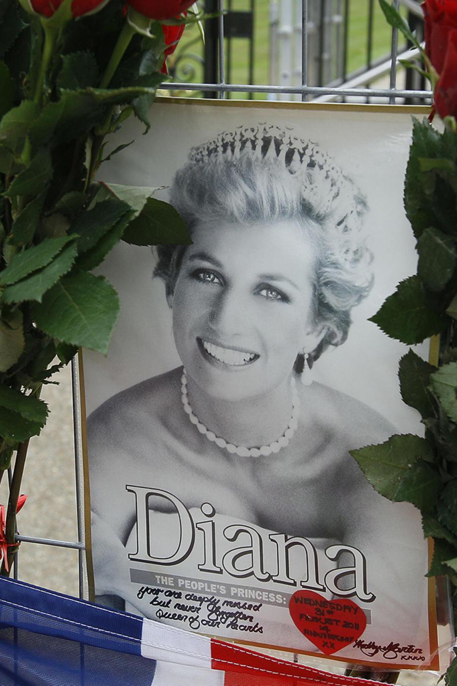 Las redes sociales recuerdan a la princesa Diana 19 años después de su muerte