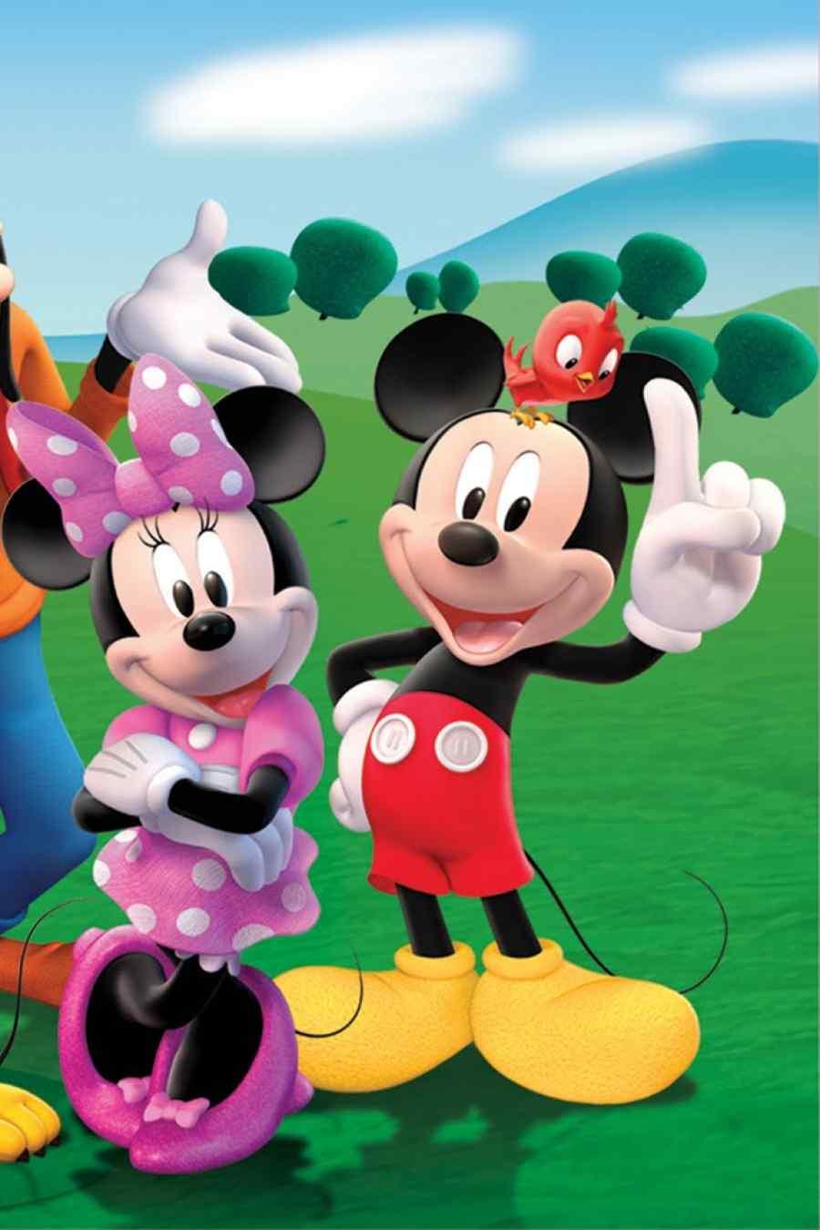 Personajes de Disney.