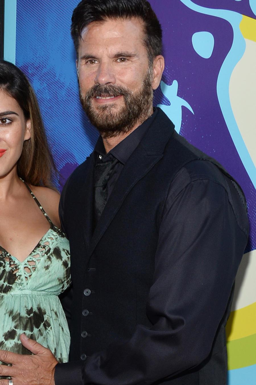 Lorenzo Lamas con su esposa Shawna, embarazada del nieto del actor