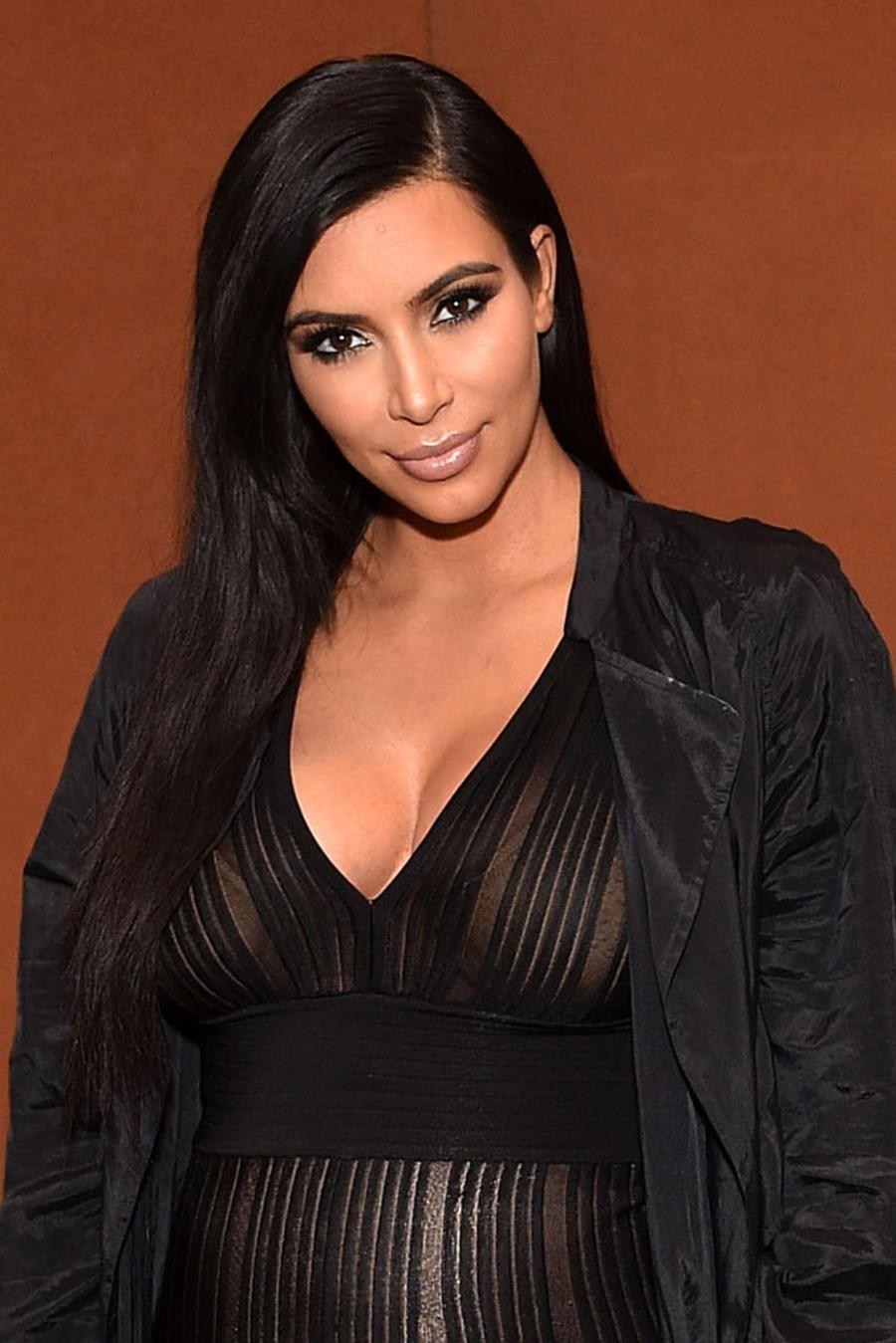 Kim Kardashian en LACMA Director's Conversation en Los Ángeles