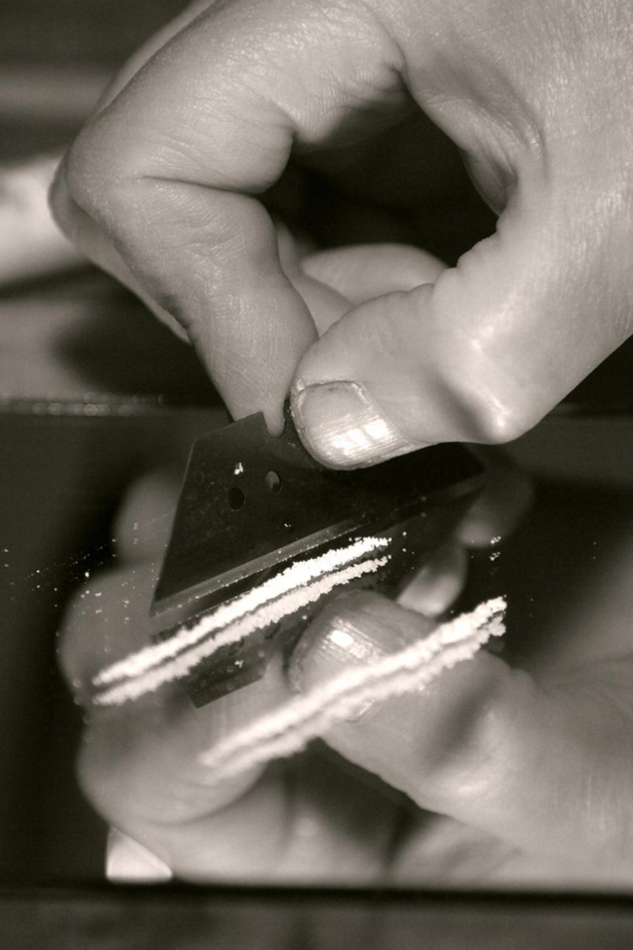 adicción a la droga cocaína