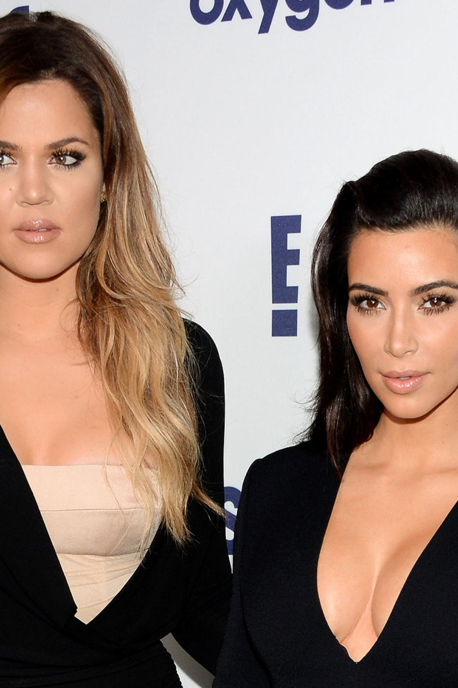 Kim Kardashian y Khloé Kardashian 2015