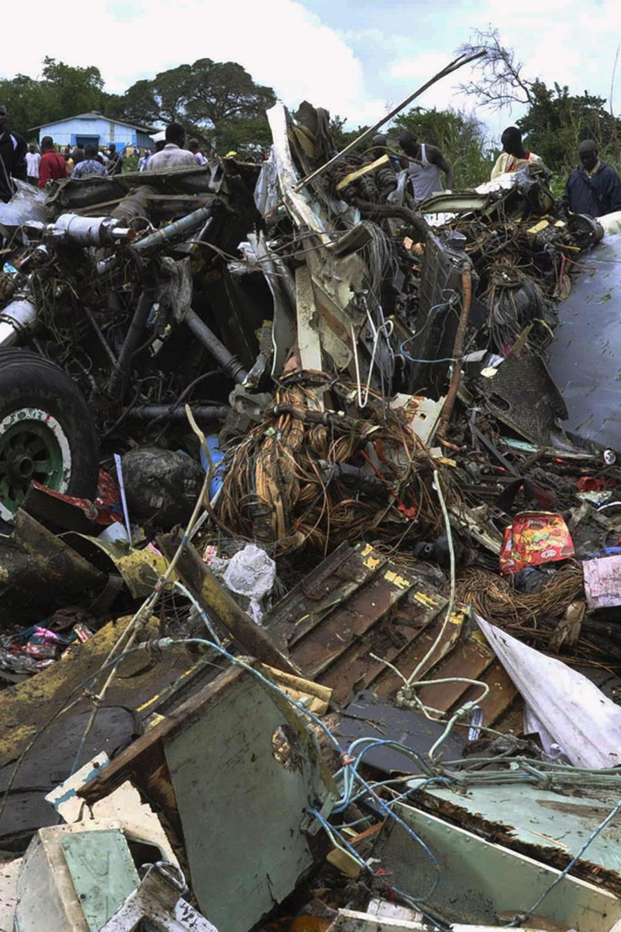 avion ruso estrellado en sudan