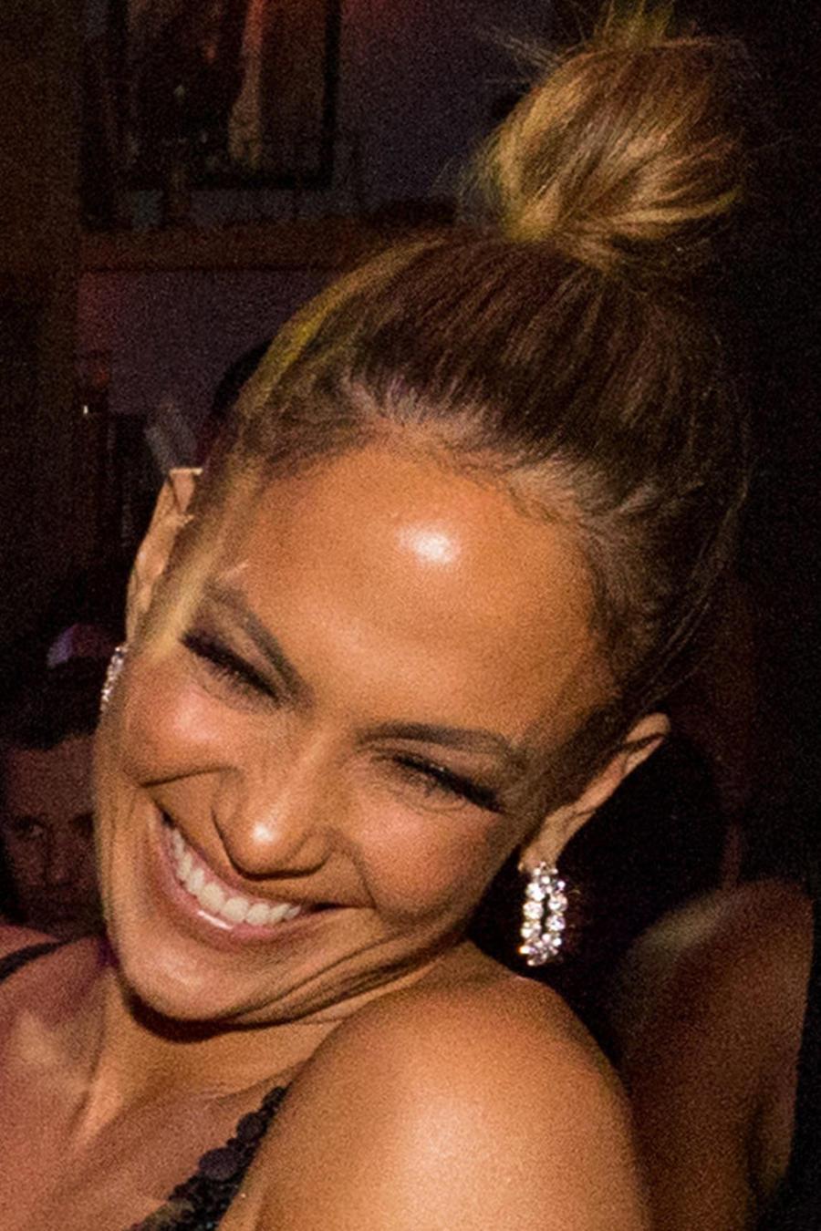 Jennifer Lopez en el after party de los AMAs 2015