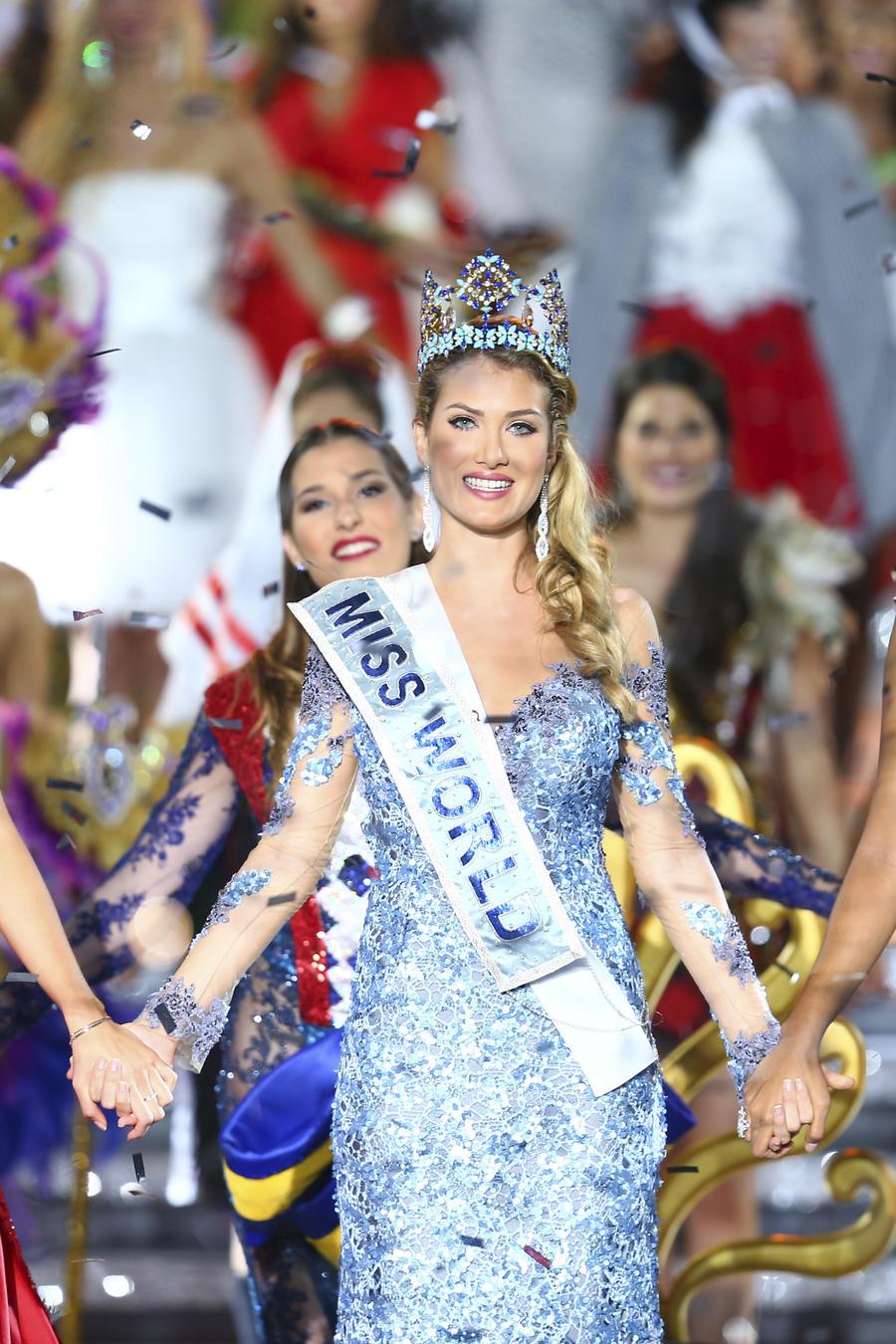mireia primera española en ganar miss mundo