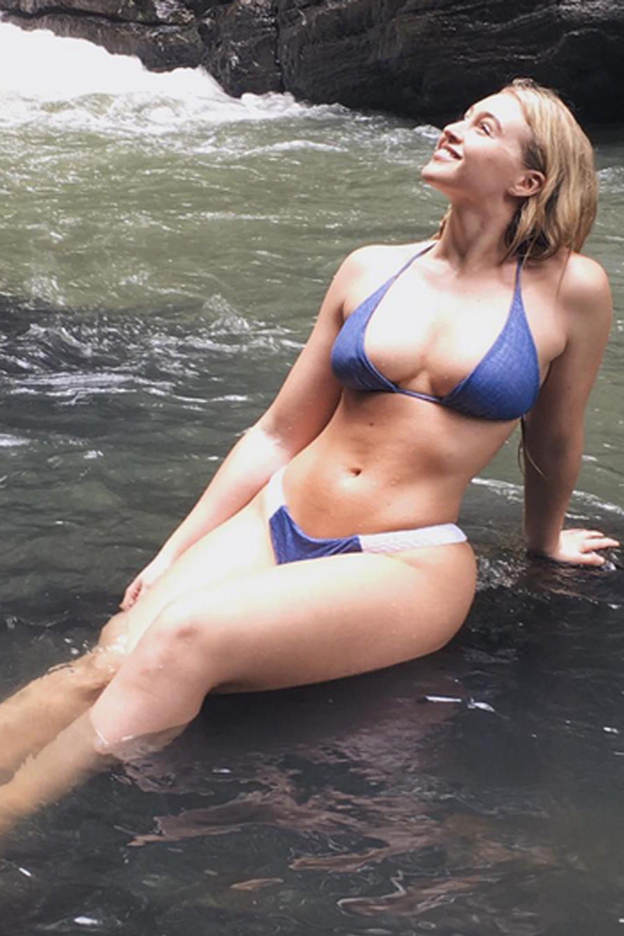 Iskra Lawrence, modelo de Instagram