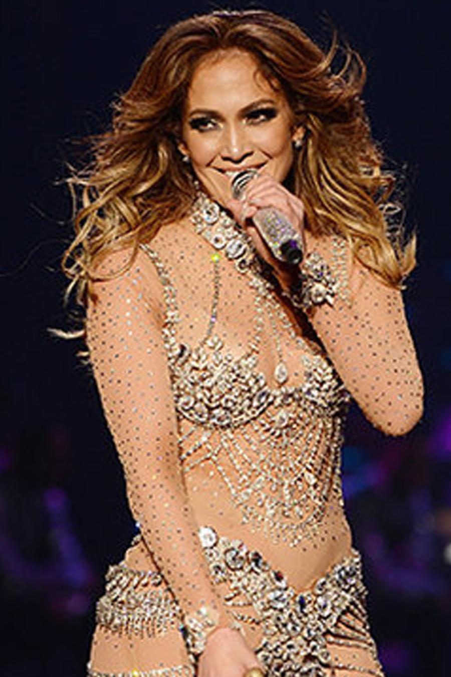 Jennifer Lopez en Las Vegas 2016