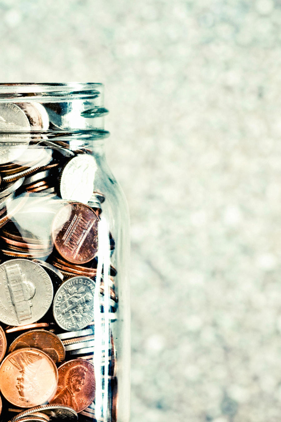 Save your change at the end of the day